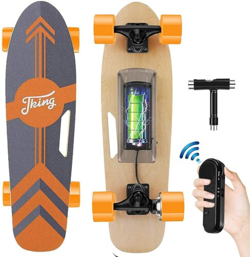 Meilleur Qualité/Prix skateboard électrique: Tooluck