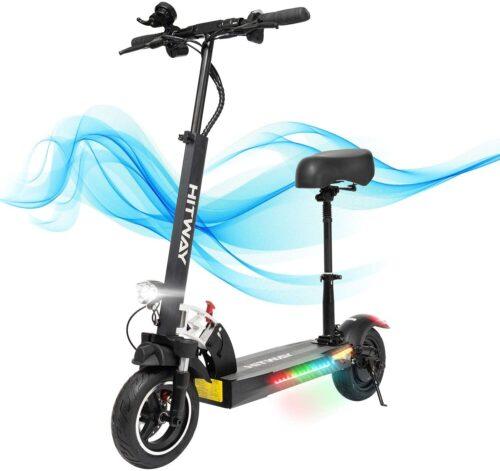 Meilleur qualité / prix trottinette électrique avec siège: HITWAY électrique Scooter